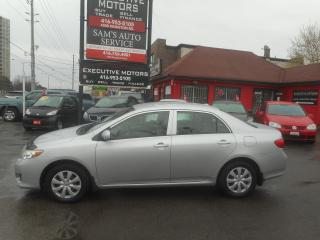 Used 2009 Toyota Corolla CE LOW KM!! for sale in Scarborough, ON