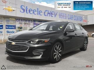 Used 2017 Chevrolet Malibu LT - Alloys, Moonroof, Bluetooth, Leather and more! for sale in Dartmouth, NS