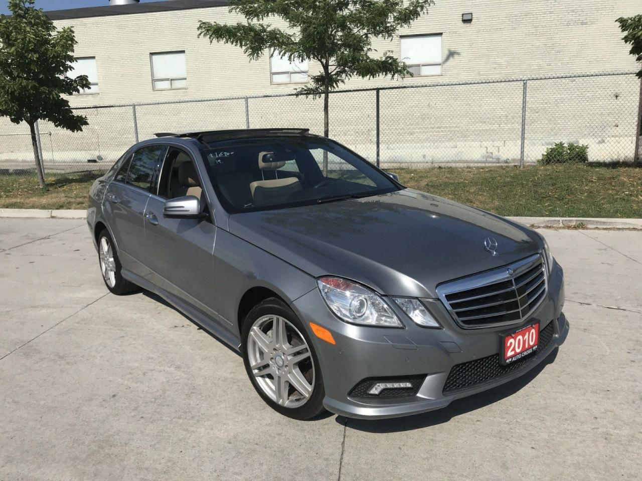 used 2010 mercedes benz e550 e550 4 matic navi 3 y warranty availab for sale in toronto. Black Bedroom Furniture Sets. Home Design Ideas