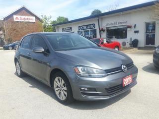 Used 2015 Volkswagen Golf TSI W/ NAV for sale in Waterdown, ON