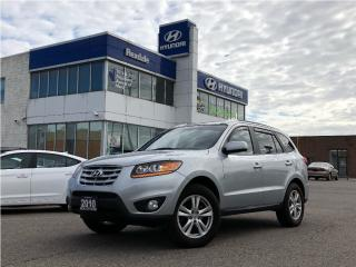 Used 2010 Hyundai Santa Fe Limited w/Navi for sale in Toronto, ON