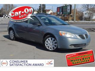 Used 2008 Pontiac G6 SE V6 A/C SUNROOF NAVIGATION for sale in Ottawa, ON