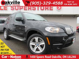 Used 2011 BMW X5 xDrive35d | AWD | LEATHER | PANO ROOF | NAV for sale in Oakville, ON