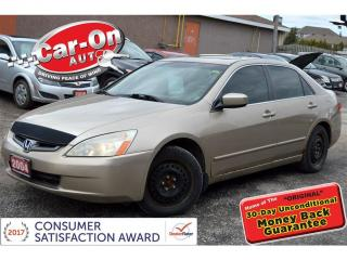 Used 2004 Honda Accord EX V6 AUTO LEATHER SUNROOF HTD SEATS for sale in Ottawa, ON