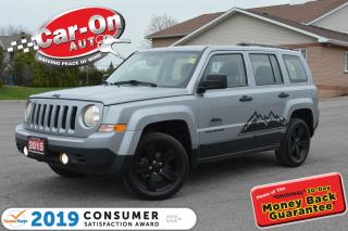 Used 2015 Jeep Patriot Altitude 4X4 A/C ONLY 44, 000 KM for sale in Ottawa, ON
