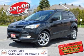 Used 2015 Ford Escape SE AWD 2.0L EcoBoost LEATHER NAV PANO ROOF LOADED for sale in Ottawa, ON