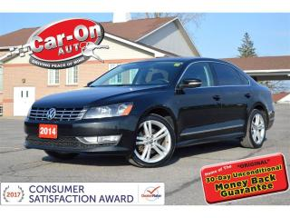 Used 2014 Volkswagen Passat 1.8 TSI Highline SPORT LEATHER NAV SUNROOF LOADED for sale in Ottawa, ON