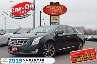 Used 2013 Cadillac XTS Luxury AWD LEATHER NAV REAR CAM ONLY 66, 000 KM for sale in Ottawa, ON