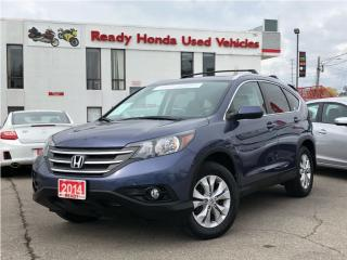 Used 2014 Honda CR-V EX AWD - Roof Rack - Rear Camera - Sunroof for sale in Mississauga, ON