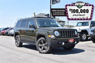 Used 2017 Jeep Patriot 75th Anniversary - 4x4, Sunroof, Bluetooth, Heated for sale in London, ON