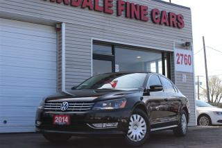 Used 2014 Volkswagen Passat 2.0 TDI Highline. Leather. Roof. Navi. Camera for sale in Toronto, ON