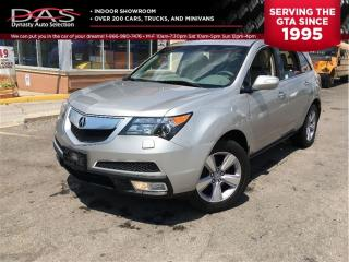 Used 2010 Acura MDX AWD TV-DVD PKG/LEATHER/SUNROOF/7 PASS for sale in North York, ON