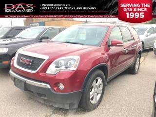 Used 2010 GMC Acadia SLE AWD PANORAMIC SUNROOF/7 PASS for sale in North York, ON