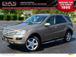 Used 2009 Mercedes-Benz ML-Class ML320 BLUETEC NAVIGATION/LEATHER/SUNROOF for sale in North York, ON