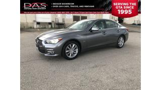 Used 2015 Infiniti Q50 3.7 AWD NAVIGATION/LEATHER/SUNROOF for sale in North York, ON
