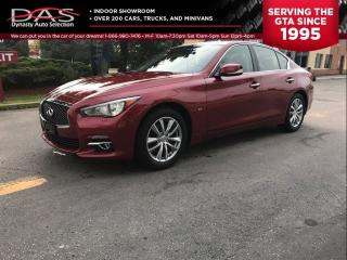Used 2014 Infiniti Q50 PREMIUM REAR VIEW CAMERA/LEATHER/SUNROOF for sale in North York, ON