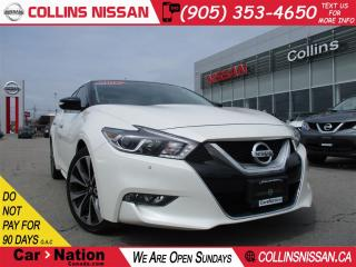 Used 2016 Nissan Maxima SR | NAVI | LEATHER | BACK UP CAMERA | for sale in St Catharines, ON