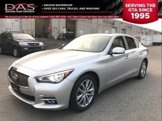Used 2014 Infiniti Q50 SUNROOF/NAVIGATION/REAR CAMERA/AWD for sale in North York, ON