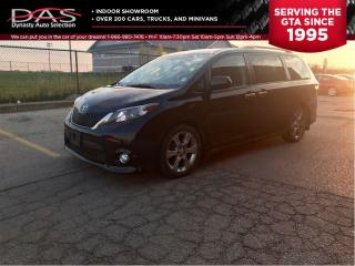 Used 2014 Toyota Sienna SE 8 Passenger/Sunroof/Power Doors for sale in North York, ON