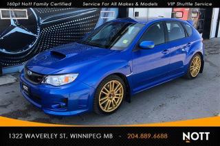 Used 2013 Subaru WRX STI Sport-tech Hatchback Only 21, for sale in Winnipeg, MB