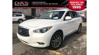 Used 2013 Infiniti JX35 TECHNOLOGY NAVIGATION/SUNROOF/LEATHER for sale in North York, ON