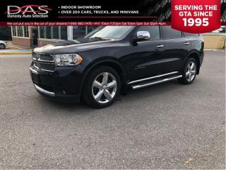 Used 2011 Dodge Durango CITADEL NAVIGATION/LEATHER/SUNROOF/7 PASS for sale in North York, ON
