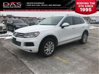 Used 2013 Volkswagen Touareg 3.6L Highline Navigation/Panoramic Sunroof/Leather for sale in North York, ON