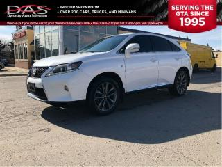 Used 2013 Lexus RX 350 F Sport NAVIGATION/LEATHER/SUNROOF for sale in North York, ON