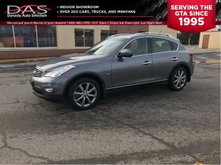 Used 2015 Infiniti QX50 AWD LEATHER/SUNROOF/CAMERA for sale in North York, ON