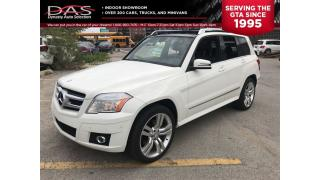Used 2011 Mercedes-Benz GLK-Class GLK350 4MATIC PANORAMIC SUNROOF/LEATHER/LOADED for sale in North York, ON
