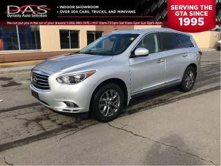 Used 2013 Infiniti JX35 TECHNOLOGY NAVIGATION/LEATHER/SUNROOF for sale in North York, ON