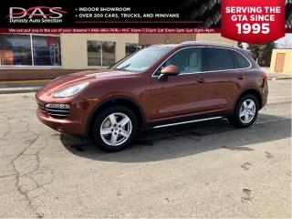 Used 2013 Porsche Cayenne S/V8/NAVIGATION/PANORAMIC SUNROOF for sale in North York, ON