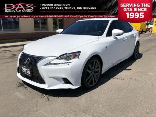 Used 2015 Lexus IS 250 F-Sport/Red Interior/AWD for sale in North York, ON
