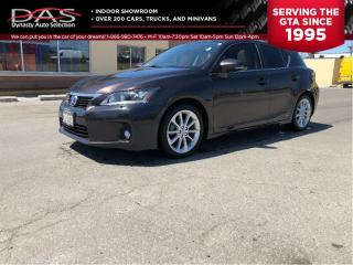 Used 2013 Lexus CT 200h PREMIUM/NAVIGATION/REAR CAMERA/HYBRID for sale in North York, ON