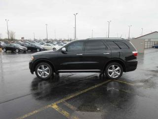 Used 2012 Dodge DURANGO CITADEL 4WD for sale in Cayuga, ON