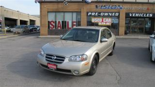 Used 2002 Nissan Maxima SE/CLEAN CAR PROOF/2 SETS OF RIMS+TIRES for sale in North York, ON