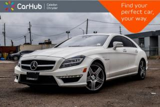 Used 2013 Mercedes-Benz CLS-Class CLS 63 AMG|Navi|Sunroof|Backup Cam|Bluetooth|Leather|19