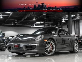 Used 2014 Porsche 911 CARRERA 4S|6 SPEED|NAVIGATION|SPORT CHRONO for sale in North York, ON