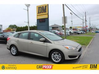 Used 2015 Ford Focus SE CAMÉRA DE RECUL  MAGS SIÈGES & VOLANT CHAUFFANT for sale in Salaberry-de-Valleyfield, QC