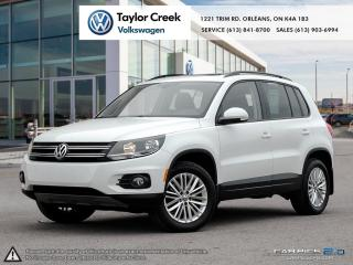 Used 2015 Volkswagen Tiguan Special Edition 6sp at Tip 4M NAV & Roof for sale in Orleans, ON