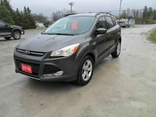 Used 2016 Ford Escape SE AWD / LEATHER for sale in Beaverton, ON