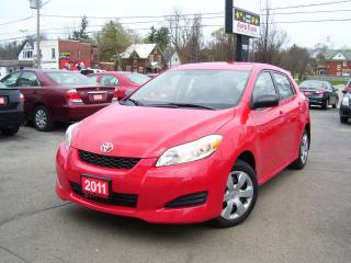 Used 2011 Toyota Matrix AUTO,A/C,POWER GROUP,KEY LESS for sale in Kitchener, ON