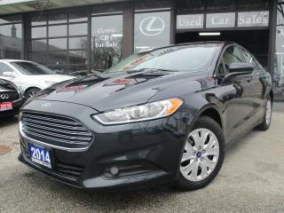 Used 2014 Ford Fusion S-BLUETOOTH-ALL POWER-2.5L for sale in Scarborough, ON