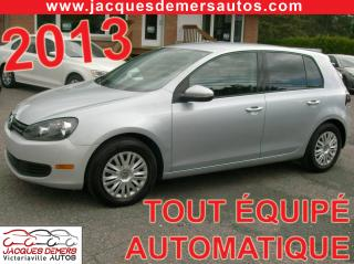 Used 2013 Volkswagen Golf 2.5 for sale in Victoriaville, QC