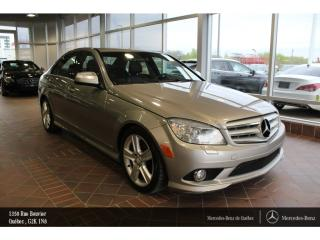 Used 2009 Mercedes-Benz C-Class C300 Awd, T.ouvrant for sale in Quebec, QC