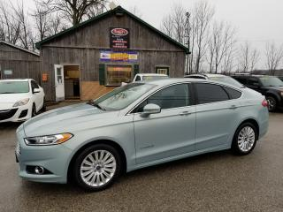 Used 2013 Ford Fusion HYBRID SE, NAVIGATION, Back up Camera, Leather for sale in Cambridge, ON