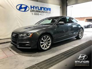 Used 2014 Audi A5 S-LINE + NAVI + TOIT + CUIR + MAGS + WOW for sale in Drummondville, QC