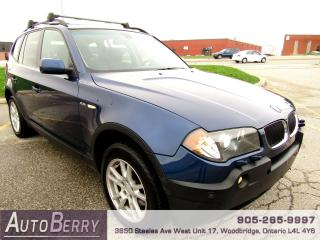 Used 2006 BMW X3 2.5i - All Wheel Drive - Pano for sale in Woodbridge, ON