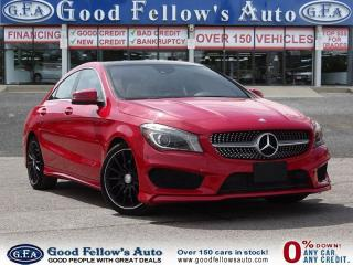 Used 2014 Mercedes-Benz CLA250 FWD,REARVIEW CAMERA, NAVIGATION for sale in North York, ON