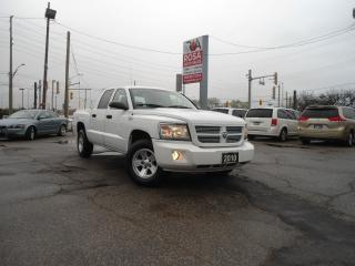 Used 2010 Dodge Dakota AUTO 4DR  SXT 4DR V6 3.7 POWERFULL ENGINE A/C for sale in Oakville, ON